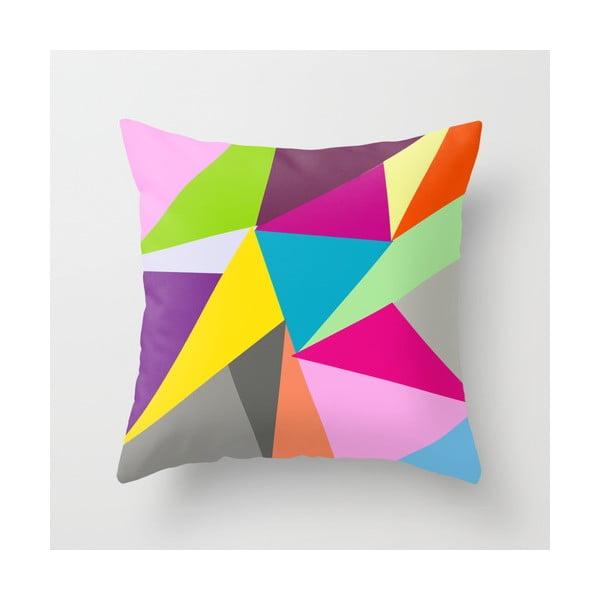 Poszewka na poduszkę Triangle V, 45x45 cm