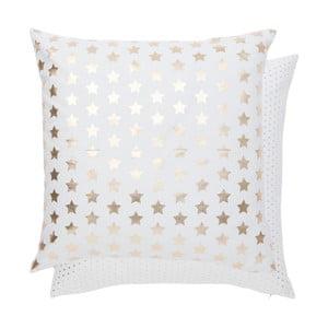 Poszewka na poduszkę Gold Stars, 50x50 cm