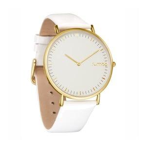 Biały zegarek damski ze skórzanym paskiem Rumbatime SoHo