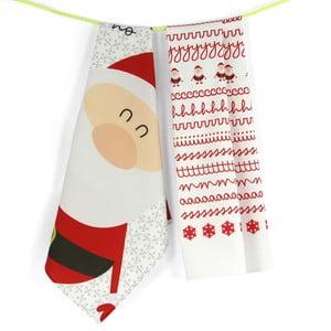 Zestaw 2 ścierek Santa