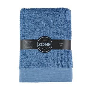 Niebieski ręcznik kąpielowy Zone Classic, 140x70 cm