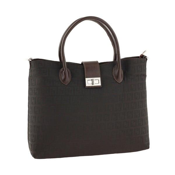 Skórzana torebka Tes Brown
