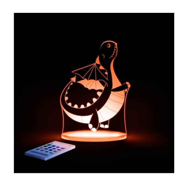 Dziecięca lampka nocna LED Aloka Dinozaur
