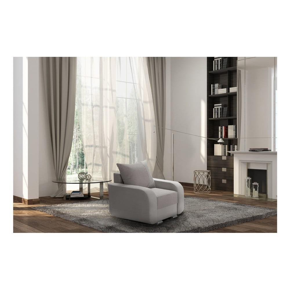 br zowoszary fotel interieur de famille paris destin bonami. Black Bedroom Furniture Sets. Home Design Ideas