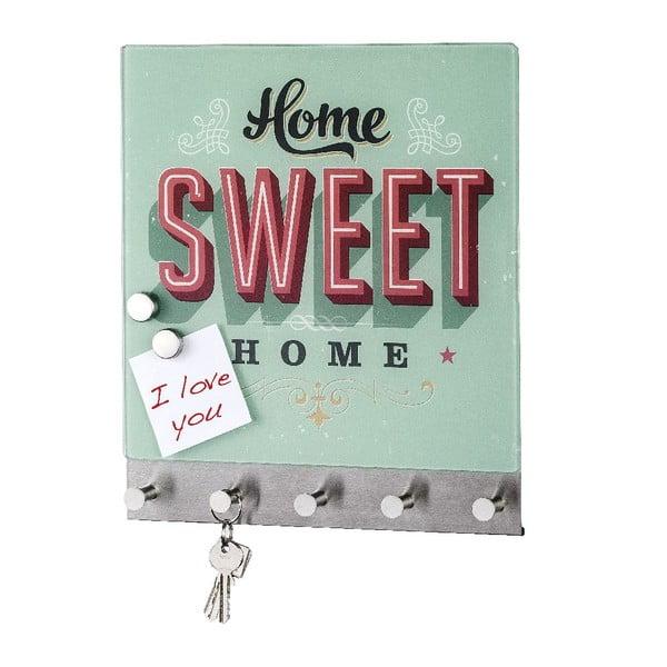 Magnetyczny wieszak na płaszcze Home Sweet Home