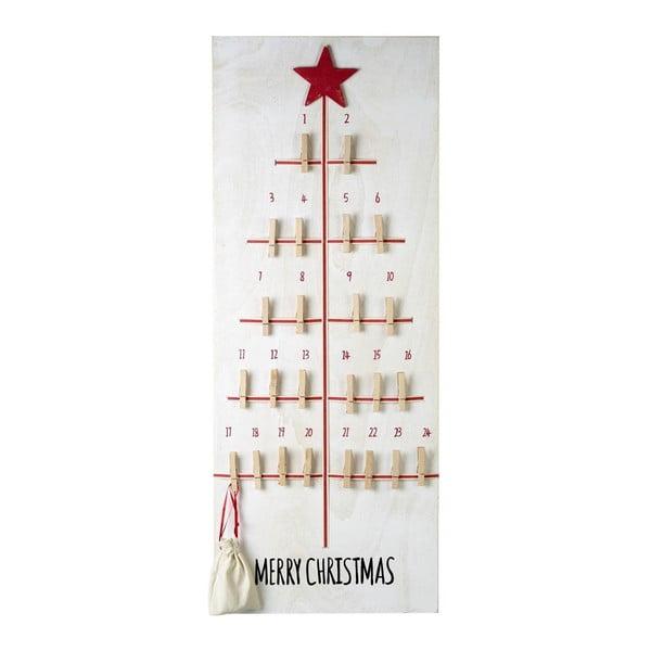 Kalendarz adwentowy z kółeczkami Parlane Advent