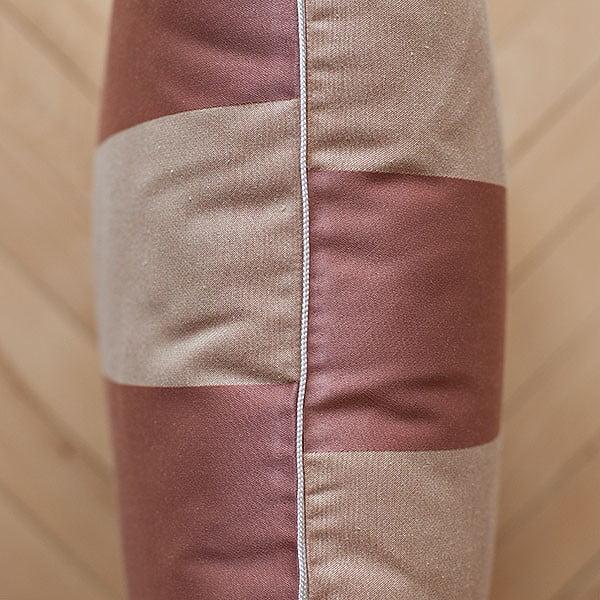 Poduszka z wypełnieniem Brown Stripes, 50x50 cm