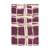 Dywan wełniany Tatoo 105 Lila, 140x200 cm