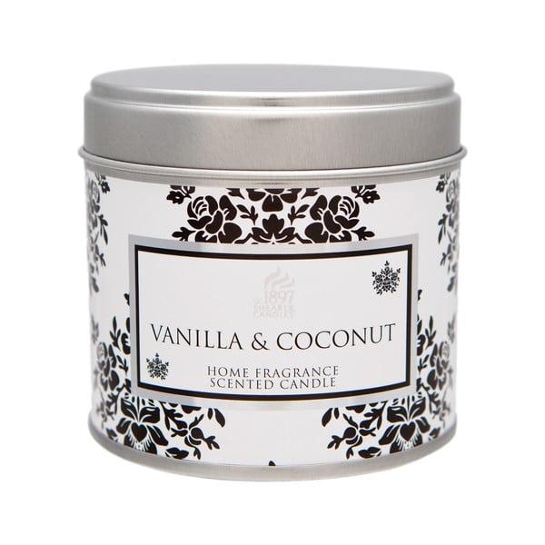 Świeczka zapachowa Spring Couture 40 godzin palenia, aromat wanilii i kokosu