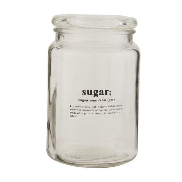 Szklany słój Clayre & Eef Sugar