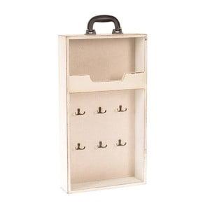 Półka ścienna Suitcase in Cream