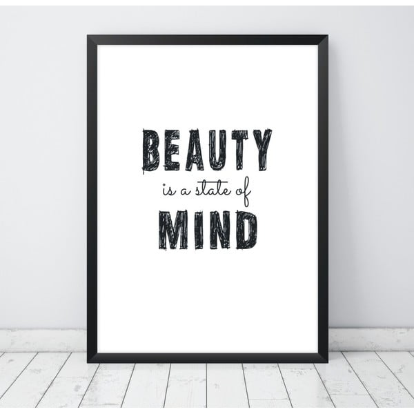 Plakat Nord & Co Beauty Mind, 40x50 cm