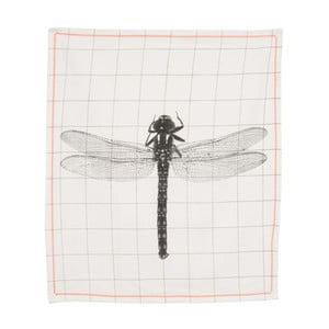 Ścierka kuchenna Grid Dragonfly, 55x65 cm