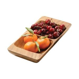 Półmisek do serwowania przekąsek z drewna akacjowego Premier Housewares Socoro