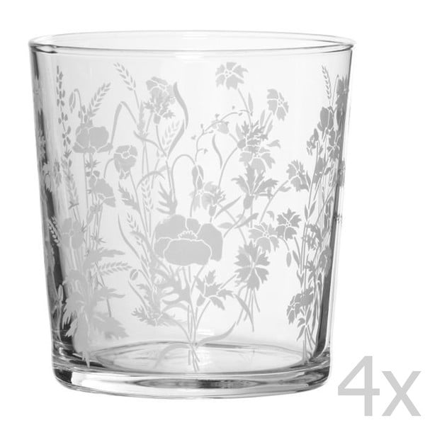 Zestaw 4 szklanek Champetre