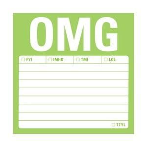 Karteczki samoprzylepne OMG