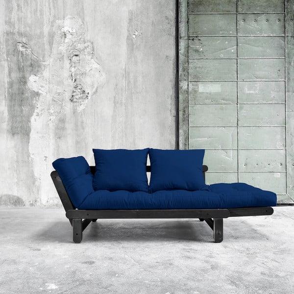 Sofa rozkładana Karup Beat Black/Royal
