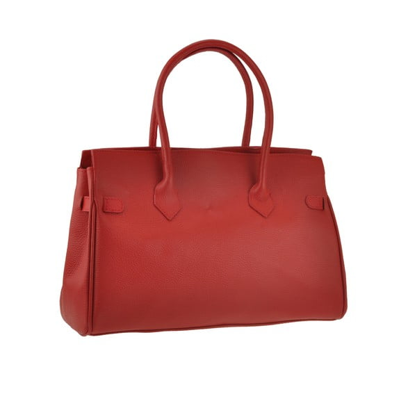 Skórzana torebka Gallina, czerwona