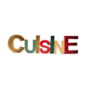 Napis dekoracyjny CUISINE, 97x25 cm