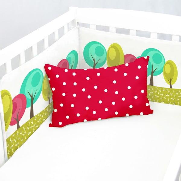 Ochraniacz do łóżeczka Grandma, 70x70x70 cm