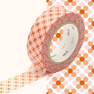 Taśma dekoracyjna washi MT Masking Tape Stephanie, dł.10m