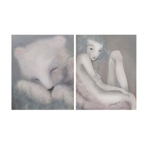 Plakat autorski: Léna Brauner Sen o niedźwiedziu, 39x60 cm