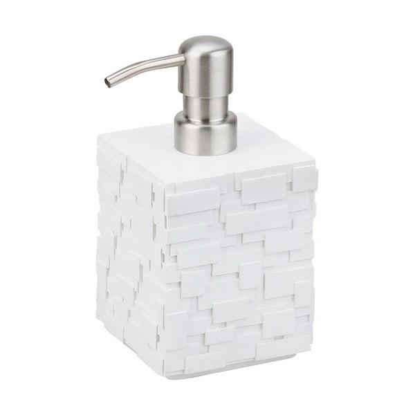 Biały dozownik do mydła Tomasucci Lion