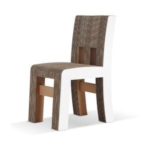 Kartonowe krzesło Campagnola White