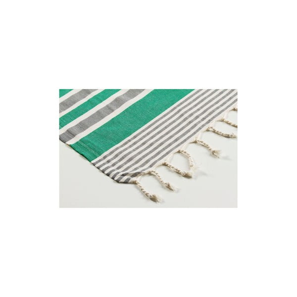 Ręcznik hammam Sunset Green, 100x180 cm