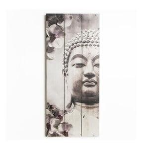 Obraz z drewna Graham & Brown Buddha,30x70cm