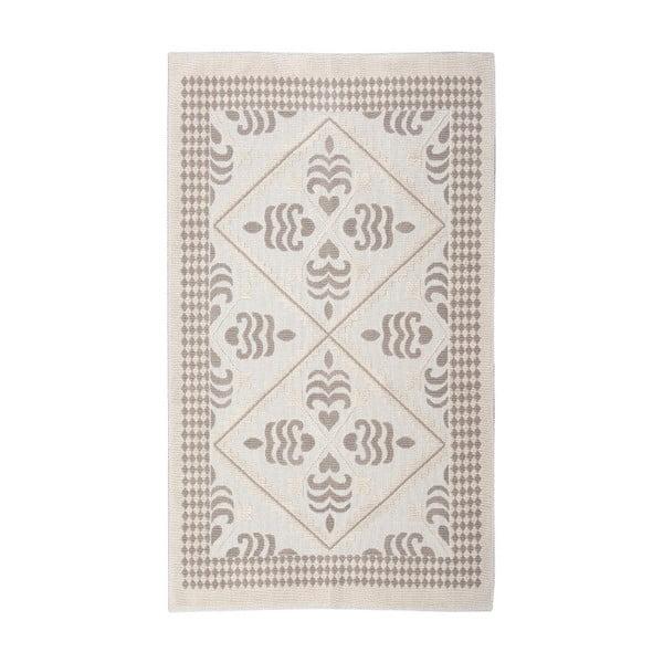 Kremowy dywan bawełniany Floorist Flair, 100x200cm