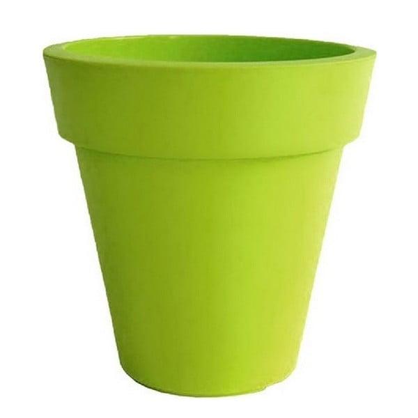 Doniczka Samantha 38x38 cm, zielona