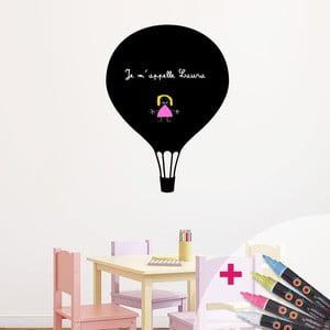 Tablica samoprzylepna z 4 z kredowym flamastrem Fanastick Balloon