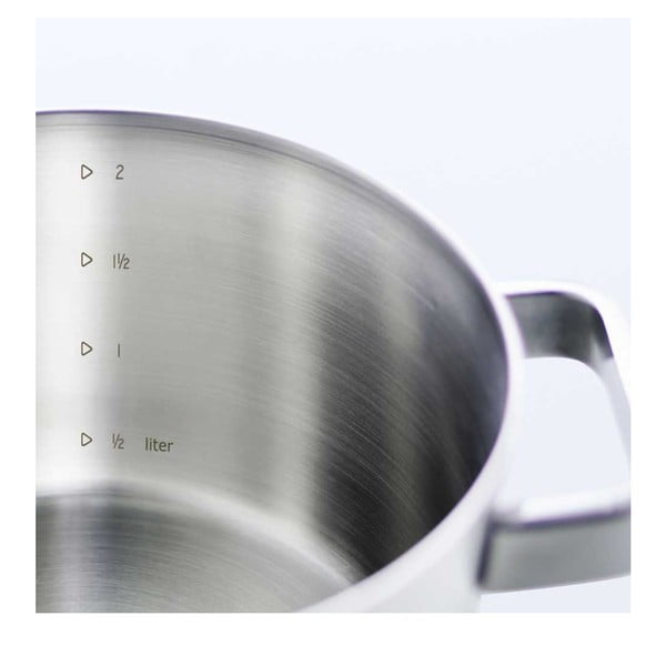 Zestaw 5 nierdzewnych garnków BK Conical Glass