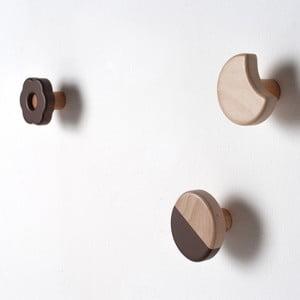 Frolle Chocolate, zestaw 3 haczyków