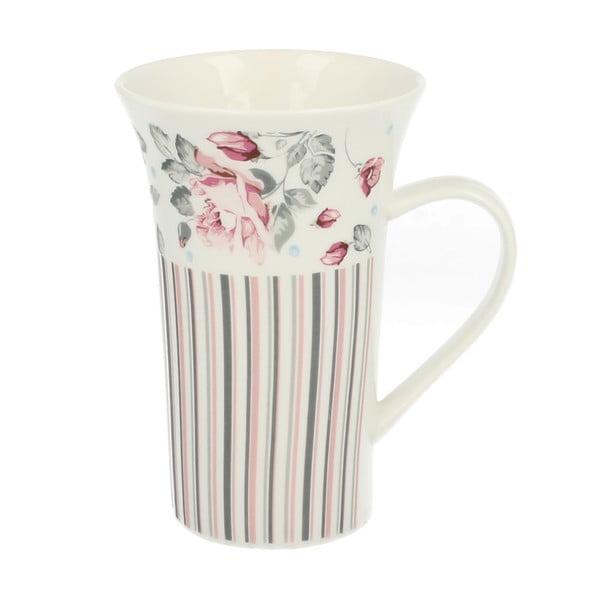 Kubek porcelanowy Duo Gift Róża, 510 ml