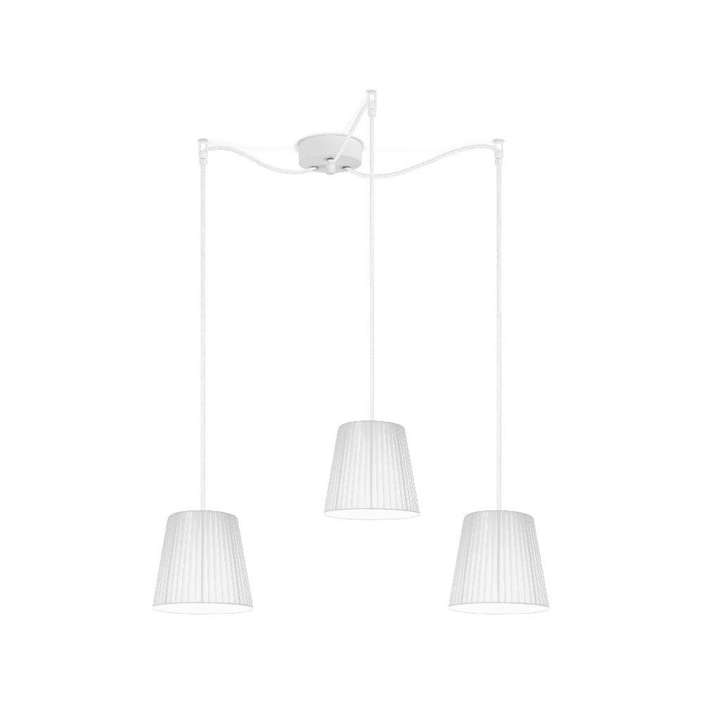 Biała lampa wisząca Sotto Luce KAMI Elementary S 3S