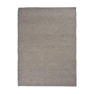 Dywan wełniany Linie Design Asko Grey, 140x200 cm
