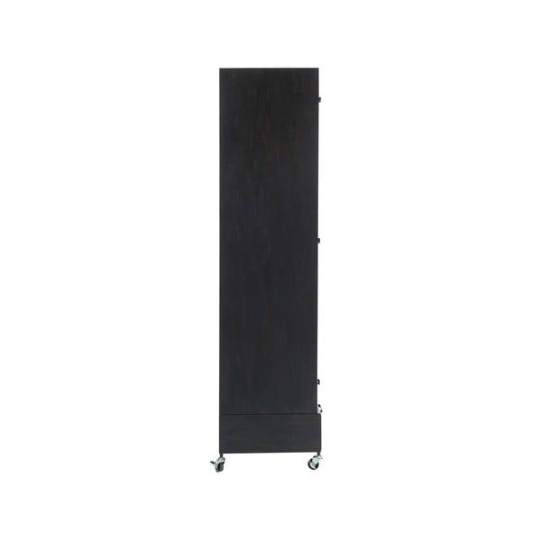 Szafa na kółkach Gauze, wysokość 175 cm