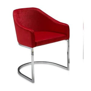 Czerwony fotel Ángel Cerdá Juanita