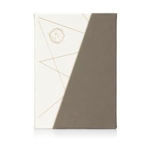 Szaro-biały notes NPW WLLT