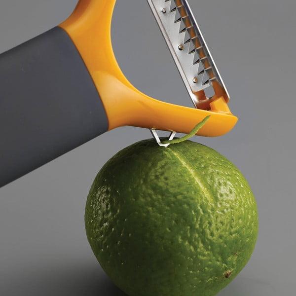 Pomarańczowa obieraczka Joseph Joseph Multi-peel Julienne