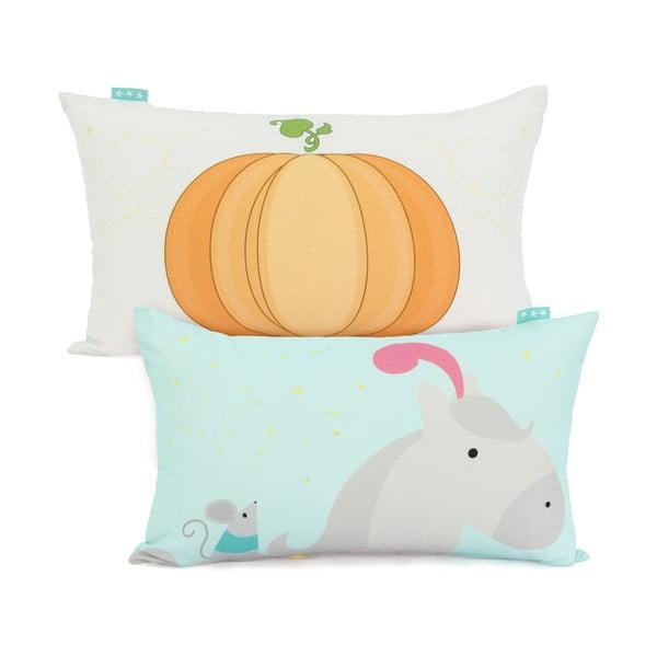 Bawełniana poszewka na poduszkę Mr. Fox Pumpkin, 50x30 cm