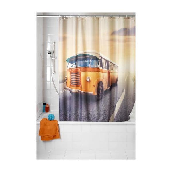 Zasłona prysznicowa Bus