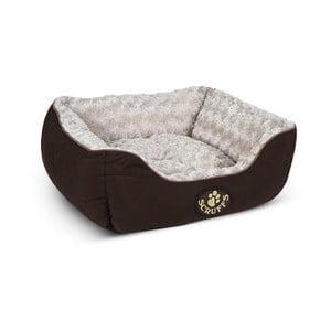 Legowisko dla psa Wilton Box Bed S 50x40 cm, brązowe