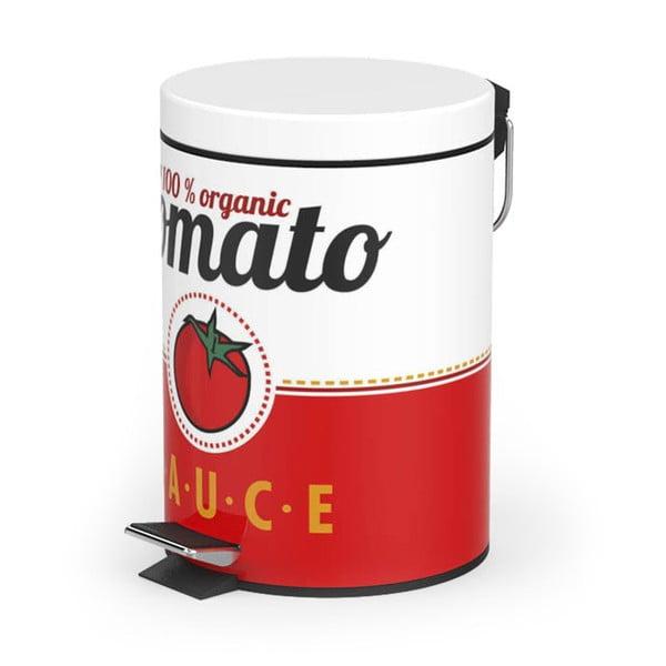 Kosz na śmieci z pedałem Tomato Sauce, 20 l