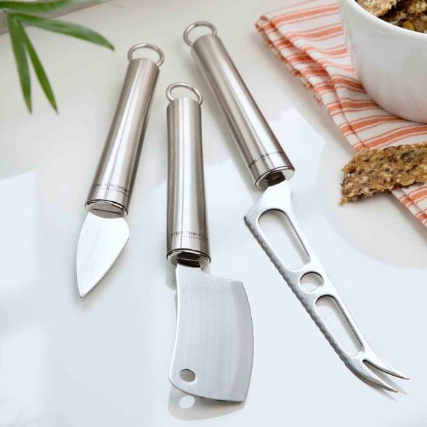 Zestaw 3 noży do sera Steel Function