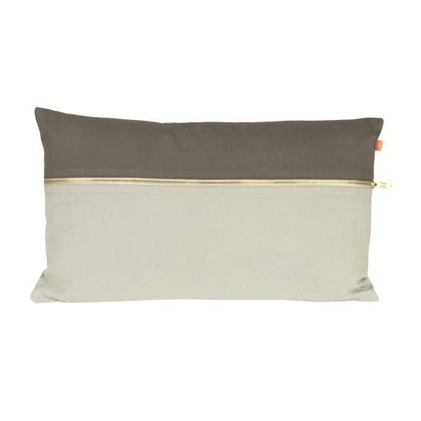 Poduszka Present Time Duo Tone Grey, 50x30 cm