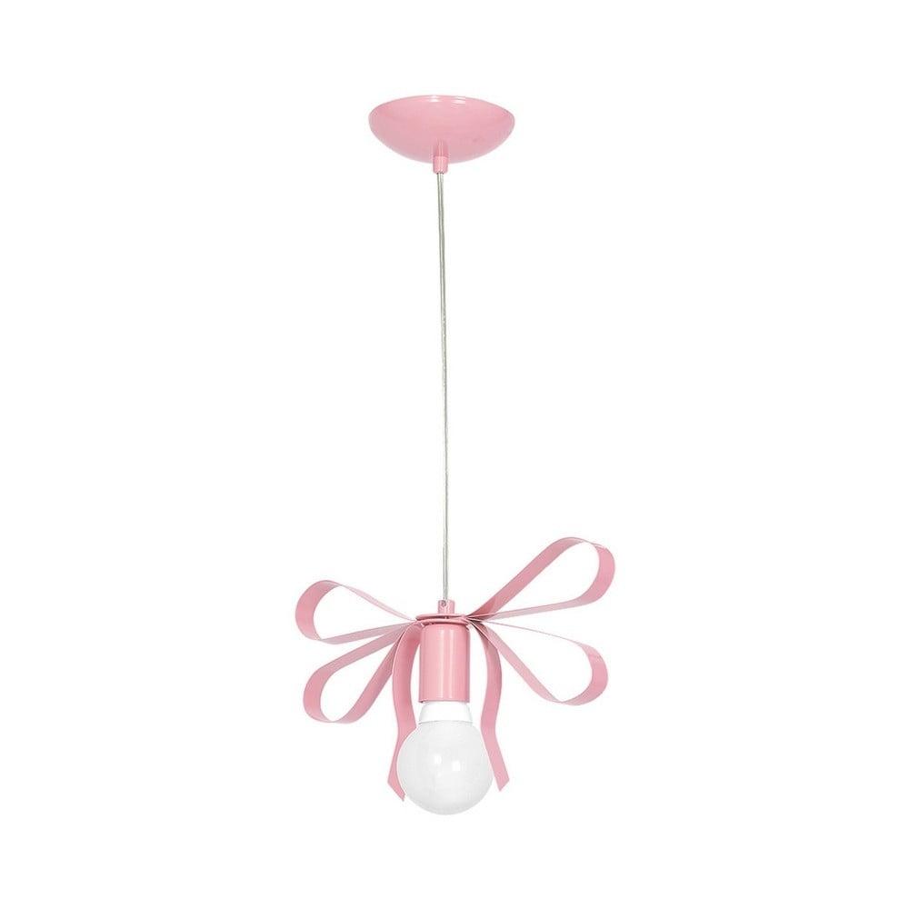 Różowa lampa wisząca Emma Uno