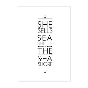 Plakat She Sells Sea Shell